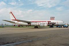 B707 (HK3030-X) Tampa Airlines (boeing-boy) Tags: hk3030x tampa mikeling manston mse boeingboy b707
