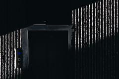Blue square (FButzi) Tags: genova genoa liguria italy italia light shadow dark lines lift