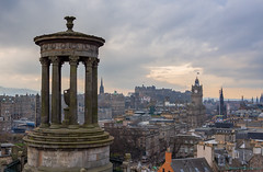 Dugald Stewart monument (Rourkeor) Tags: 35mm 35mmzeisssonnartlens edinburgh rx1r scotland sony uk capitalcity cityscape fullframe historic mathematician monument philosopher sonyflickraward