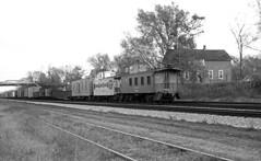 CB&Q Waycar Class NE-8 13848 (Chuck Zeiler 48Q) Tags: cbq waycar class ne8 13848 burlington railroad caboose naperville train chuckzeiler chz
