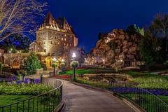 Canada Pavilion at night (B-Martin Photography) Tags: longexposure hdr canonphotography canon6d canada epcot wdw