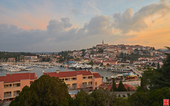 Vrsar Waking up Slowly (Eadbhaird) Tags: vrsar croatia istria sunrise clouds boat hrv