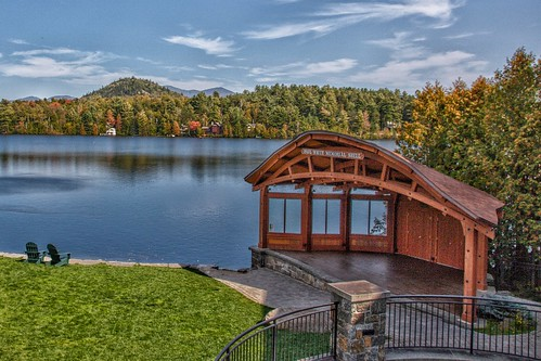 Lake Placid - New York - Paul White Memorial Shell - Historic