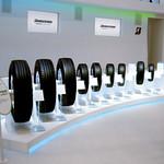 環境タイヤとその製品展開の写真