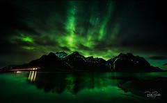Vestrahorn Northern Lights 2 FB (petebristo) Tags: vestrahorn iceland reflections nightphotography longexposure