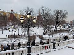 Winter in Moscow... (lyudmila fomina) Tags: canon winterinmoscow mygearandme autofocus moscowkremlin christmasinrussia snow winter people light kremlin christmas