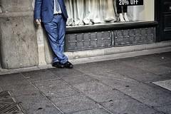 20% off (gro57074@bigpond.net.au) Tags: streetphotography grit suit man colour color guyclift f45 2470mmf28 tamron d850 nikon 2019 march cbd sydney georgestreet candidstreet candidphotography candid 20off