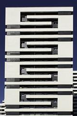 ssss (Rudy Pilarski) Tags: nikon moderne modern building bâtiment paris france d7100 francia forme form flickrbest urbain urban urbano ciel sky blue bleu blanc white architecture architectura architectural geometry géométrie géométria géométrique europe europa 2470