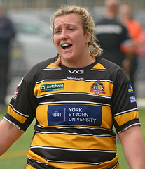 We're Better Than This! (Feversham Media) Tags: yorkcityknightsladiesrlfc castlefordtigerswomenrlfc womenssuperleague rugbyleague york womensrugbyleague yorkstjohnuniversity