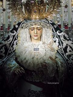 María Santísima de la Candelaria. Hermandad de la Candelaria. #Sevilla #MartesSanto