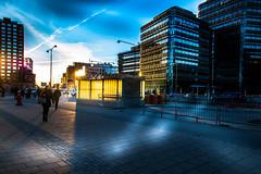 Sun reflection (Maria Eklind) Tags: skåne malmö sweden sky solljus sunset city outdoor himmel solnedgång sunreflection cityscape skånelän sverige se