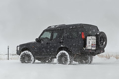 Forever. (Chazz Layne) Tags: discovery landrover overland winter snowing arizona prescott wanderlust adventure offroad d2 disco equipt alubox outdoor vehicle car snow weather cold highway89 89 us89
