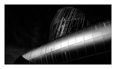 La Cité du Vin (Jean-Louis DUMAS) Tags: bordeaux abstract abstrait abstraction architecture architect architecte architectural architecturale bâtiment building noir noiretblanc nb noireblanc bw black blackandwhite blackwhite