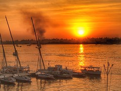 Luxor, Egypt (cattan2011) Tags: yacht ship cruise sunset landscape river travelbloggers travelphotography travel natureperfection naturelovers naturephotography nature landscapephotography