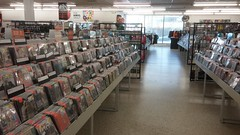 Another Aisle Shot (but I really like how this one turned out!) (Retail Retell) Tags: manifest columbia sc discs tapes records cds dvds media store independent chain trans world entertainment fye boozer shopping center