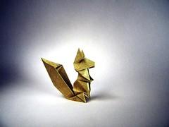 Squirrel - Fumiaki Kawahata (Rui.Roda) Tags: origami papiroflexia papierfalten esquilo ardilla écureuil squirrel fumiaki kawahata