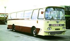 Slide 135-01 (Steve Guess) Tags: addlestone surrey england gb uk lbpt cbm bus coop car park aec reliance harrington western welsh abo145b