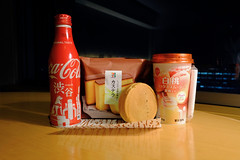 Snacky Time! (timtram) Tags: 7eleven castellacake coke food imagawayaki japan peachmixsmoothie snackytime tokyo