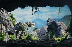 Clash of the Titans. (vicari8) Tags: king kong stephen movie toy toys johnny lightning art love andrea vicariotto trex dinosaur peter jackson