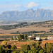 Catalan countryside and Montserrat Mountain