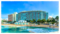 La Concha (Timothy Valentine) Tags: people vacation 0417 beach ocean hotel sky 2017 panorama sliderssunday sanjuan puertorico pr