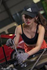 DSC_2056 (Robin Huang 35) Tags: 張淳艾 波比 poppy 修車廠 修車服 工作服 人像 portrait lady girl nikon d850 龜山鄉 臺灣省 中華民國 tw car 車
