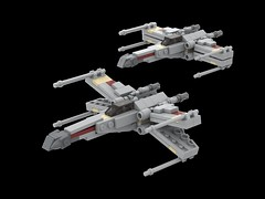 Star Wars Mini Rebel X-Wing (Cpt. Ammogeddon) Tags: empire star war space battle moc custom lego mini collect wing rebel fight sky air s xwing x grey tan model design scale midi brick block work progress update mod episode vehicle craft toy kid adult play teen white red