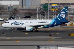 N522VA   Airbus A319-112   Alaska Airlines (cv880m) Tags: newyork jfk kjfk kennedy aviation airliner airline aircraft airplane jetliner airport n522va airbus a319 319100 319112 alaska alaskaairlines eskimo