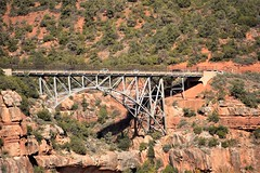 MIDGLEY BRIDGE (SneakinDeacon) Tags: redrocks scenicdrive landscape sedona arizona bucketlist bridge midgleybridge arch