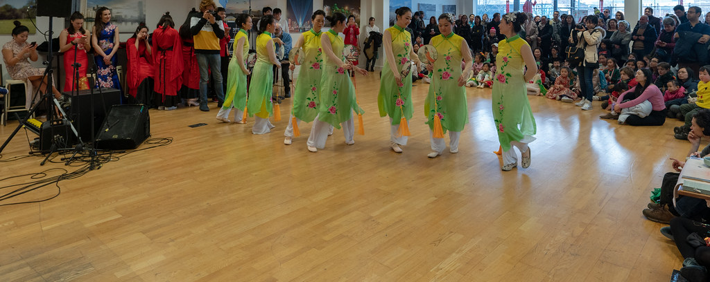 YEAR OF THE PIG - LUNAR NEW YEAR CELEBRATION AT THE CHQ IN DUBLIN [OFTEN REFERRED TO AS CHINESE NEW YEAR]-148953