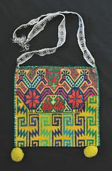 Bag Huichol Morral Textiles Mexican (Teyacapan) Tags: bag bolsa purses morral huichol jalisco mexico textiles embroidery