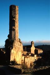 Ruines du château de Minerve (Philippe_28) Tags: minerve 34 hérault france europe plusbeauxvillagesdefrance 24x36 argentique analogue camera photography film 135
