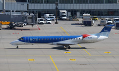 Bye bye BMI :-( (Treflyn) Tags: sad hear another airline succumbed financial woes embraer erj145 grjxd bmi regional munich airport muc 2016