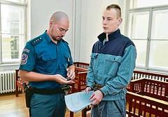 Jiří Meindl 4 (Kluci v nesnázích) Tags: court handcuffs jail prison accused criminal inmate