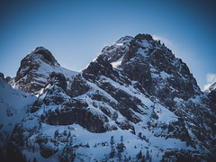 Mighty Silence (samleer) Tags: afternoon alps austria daytime europe golling mountain nature rock stone winter majestic snow