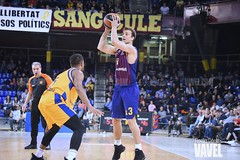 DSC_0329 (VAVEL España (www.vavel.com)) Tags: fcb barcelona barça basket baloncesto canasta palau blaugrana euroliga granca amarillo azulgrana canarias culé
