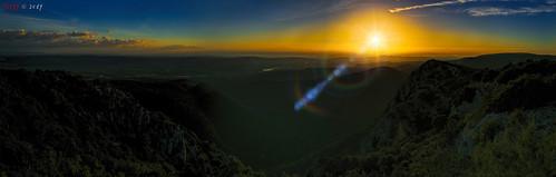 Dark & Wide Sunset