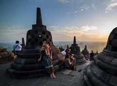 Sunrise Borobudur (TigerPal) Tags: borobudur indonesia indonesian tourist travel trip vacation ancient wonder buddhist buddhism historic historical architecture temple sunrise dawn traveller
