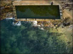Pearl Beach Pool 1 r (GTV6FLETCH) Tags: pearlbeach nsw centralcoast centralcoastnsw australia beach autelevo autelrobotics autel evo evo4k60