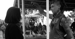 Energía (Annel Yáñez) Tags: women documentingwomen 8m encuentrodemujeresqueluchan nosotrasconlaszapatistas limpia vibes woman portrait monochrome blackandwhite digital focus manual bruja witch feminism