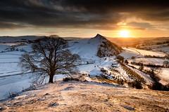 Standing on Chrome Hill (theinksurgeon) Tags: chromehill buxton parkhouse hill derbyshire peakdistrict sunrise snow landscape landscapephotography winter