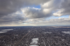 Minneapolis 2019 (Lucie Maru) Tags: window fly flying minneapolis windowseat flight aerial aerialview city urban cold winter frozen clouds sky
