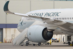 Cathay Pacific Airbus A350-900 (cjb_photography) Tags: airport plane planespotting planespotter airplanes yyz cyyz torontoclicks torontoguardian blogto airliners airbus
