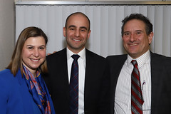 David Kurzmann with Reps. Elissa Slotkin and Andy Levin