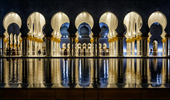 * Islamic architecture * (antonkimpfbeck) Tags: orient2019 scheichzayidmoschee abudhabi architektur art islamic mirror fujifilm