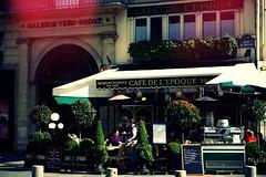 Café de l'époque (Loran de Cevinne) Tags: lorandecevinne paris pentax café restaurant bistrot galerieverododat cafédelepoque france people personnage personne gens déjeuner ruedubouloi iledefrance