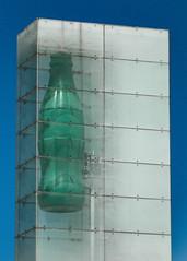 Coca Cola / Atlanta (swampzoid) Tags: bottle green frozen monument coke cocacola cola drink beverage tall atlanta