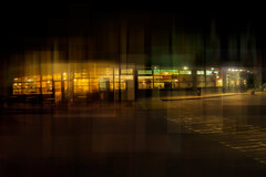 service (thomas o myers) Tags: thomasomyers thomasoliviermyers contemporaryart contemporaryphoto art multiexposure newmediaart digitalphoto nikon adobe photoshop contemporaryartphotographer artphotographer photocompositions colorphoto highres highrespicture 1080p urbanpicture urban city architecture buildings cityscape street café higwayrestaurant restaurant higway orange green red