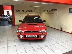 IMG_0325 (deeelux) Tags: red subaru impreza wagon 2000 turbo uk spec 1997 r981gfw
