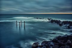 The Gloaming (Russ Dixon Photography) Tags: russdixon russdixonphotography newzealand taranaki seascape landscape fujixt3 longexposure gloaming dusk opunake